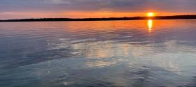 Lake Mindemoya Sunset - Central Manitoulin